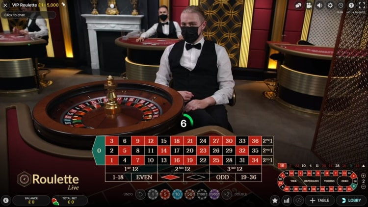 fansbet casino live roulette table