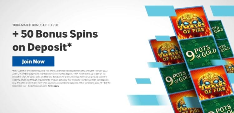 betway casino welcome bonus offer